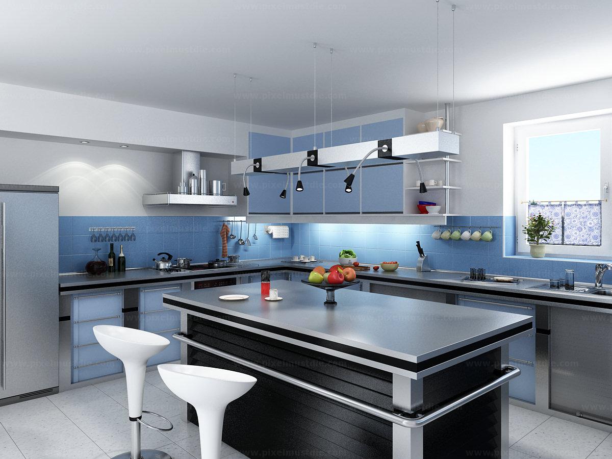Kết quả hình ảnh cho thiết kế nội thất phòng bếp chung cư