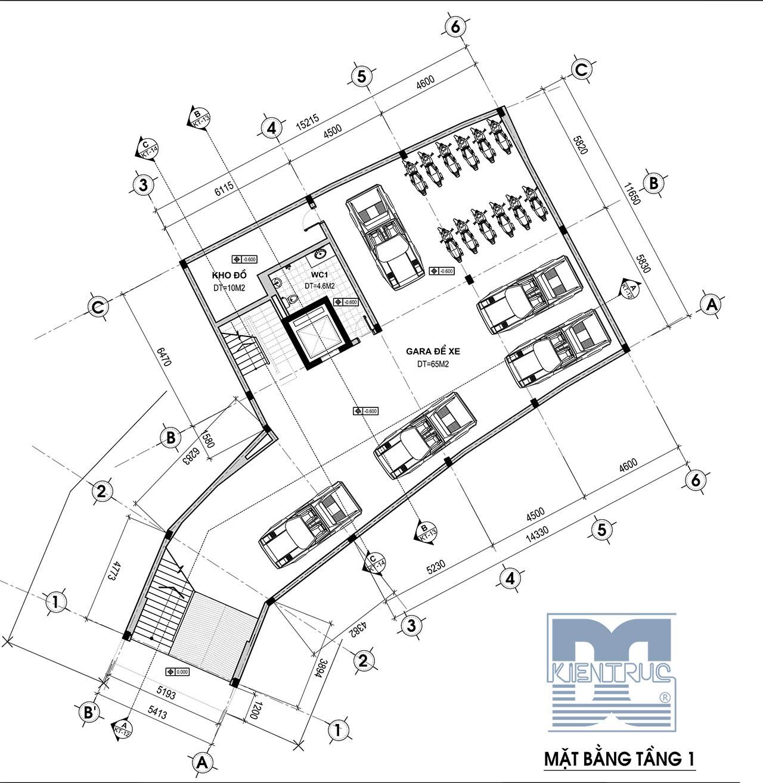 Thiết kế kiến trúc, hiết kế nhà ở kết hợp kinh doanh