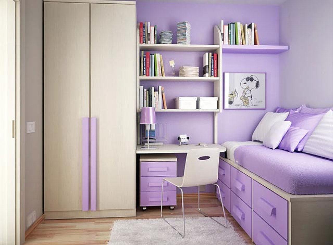 Tư vấn thiết kế nội thất cho phòng ngủ trẻ nhỏ hẹp