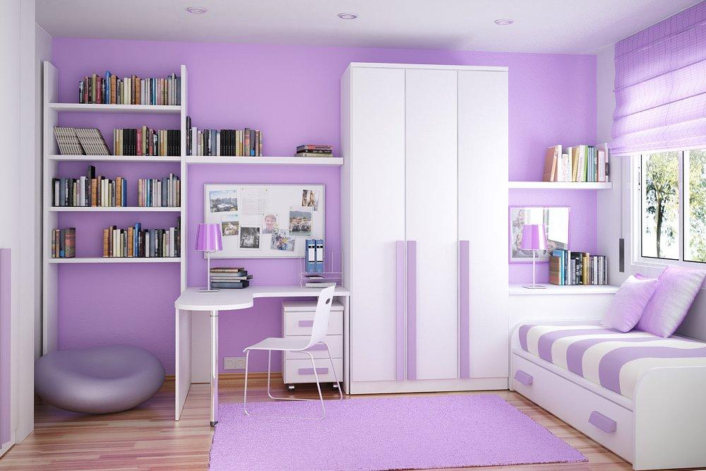 Tư vấn thiết kế nội thất phòng ngủ trẻ em nhỏ hẹp