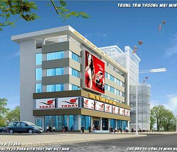 Thiết kế trung tâm thương mại Minh Ngọc đẹp hiện đại