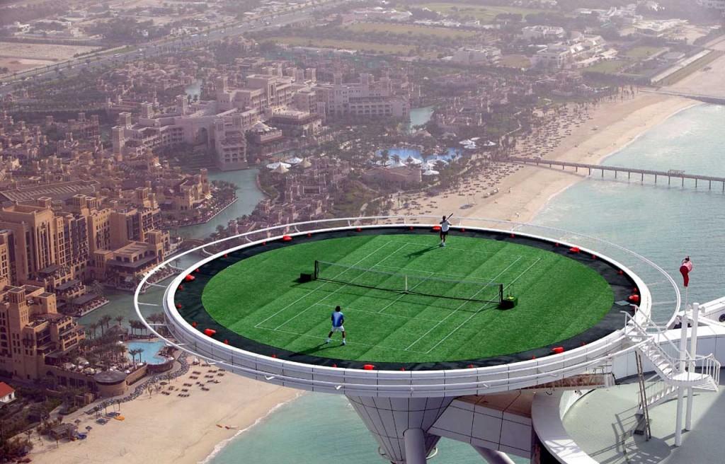 Kiến trúc khách sạn Burj al-Arab