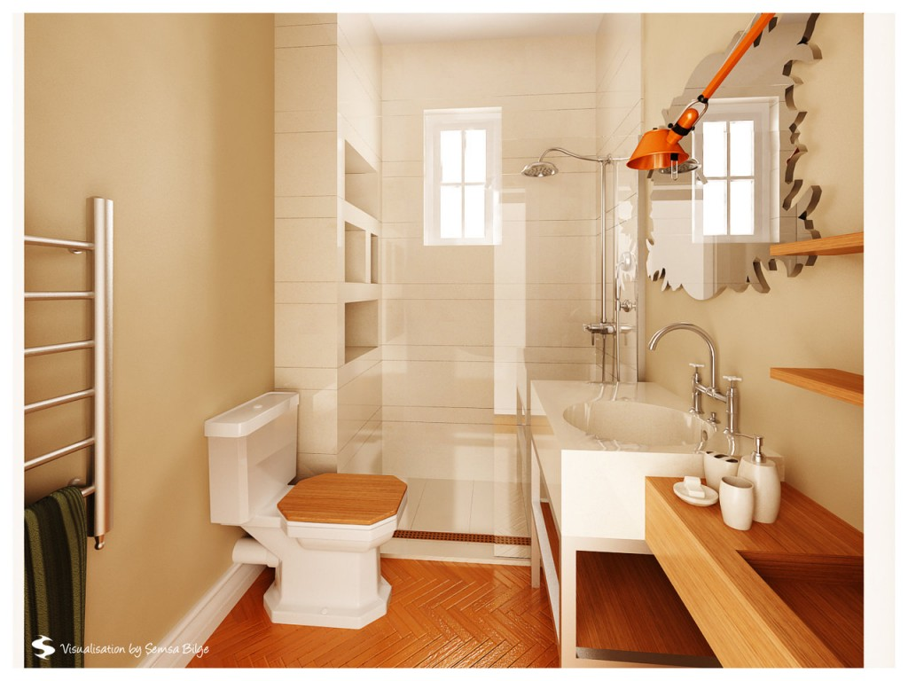 Thiết kế phòng vệ sinh đẹp tự nhiên