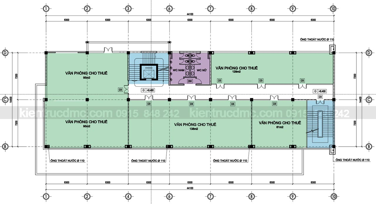Thiết kế trung tâm thương mại Minh Ngọc
