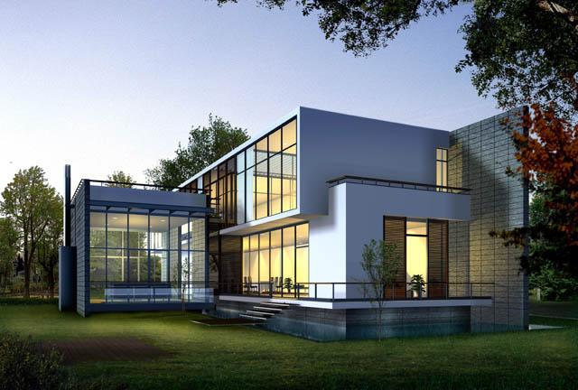 Mẫu thiết kế biệt thự hiện đại 2015