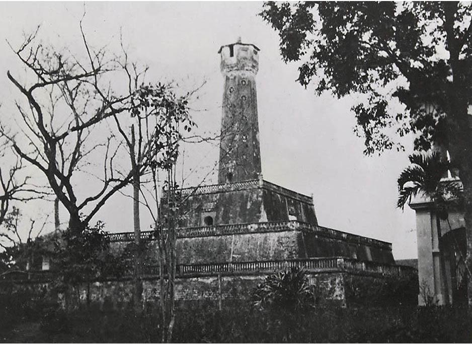 Kiến trúc cột cờ hà nội
