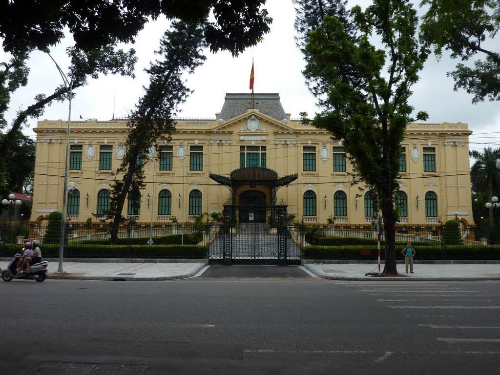 Kiến trúc nhà khách chính phủ