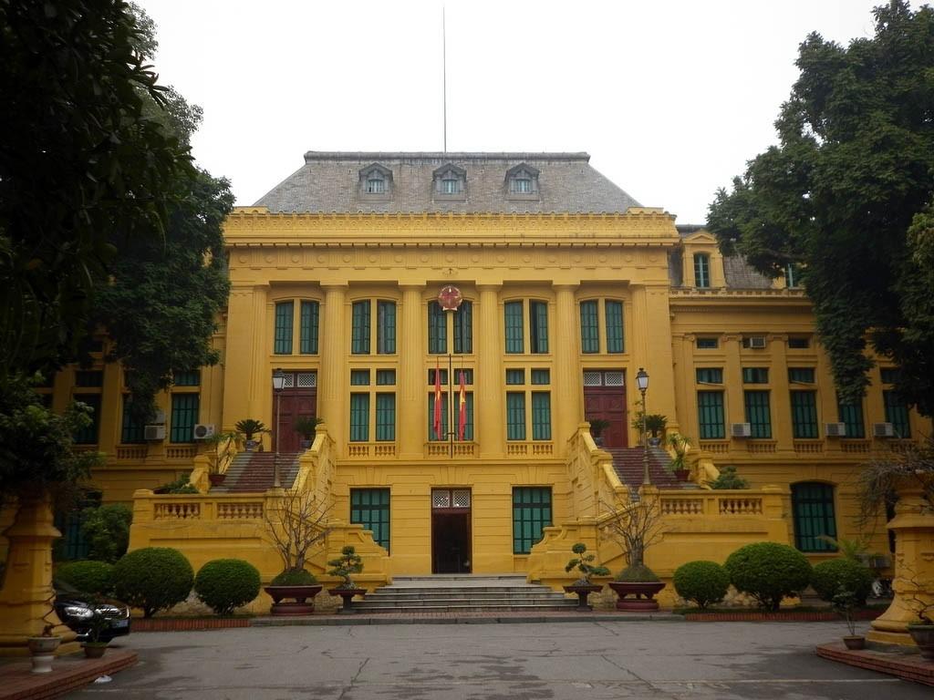 Kiến trúc Hà Nội - Tòa án tối cao