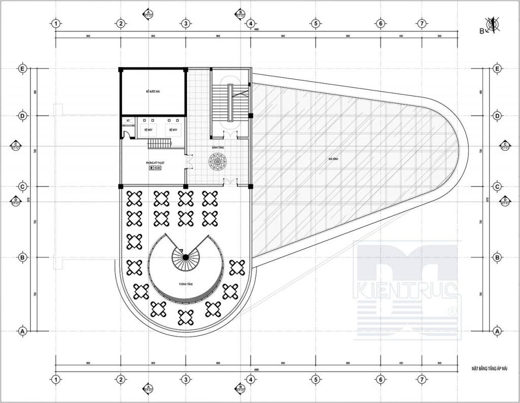 Thiết kế kiến trúc - Thiết kế trung tâm thương mại Bắc Ninh