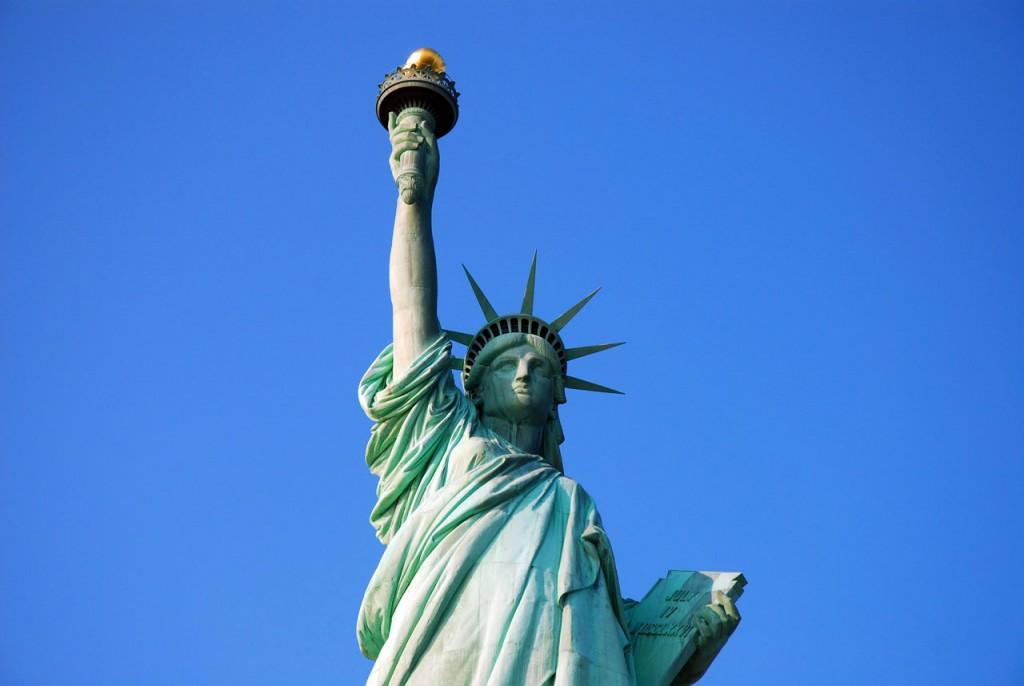 kiến trúc tượng nữ thần tự do