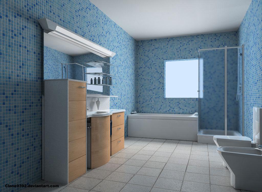 Thiết kế nội thất phòng vệ sinh đẹp tự nhiên