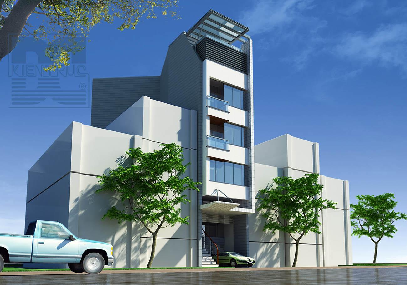 Thiết kế nhà phố kết hợp kinh doanh - Bắc Ninh