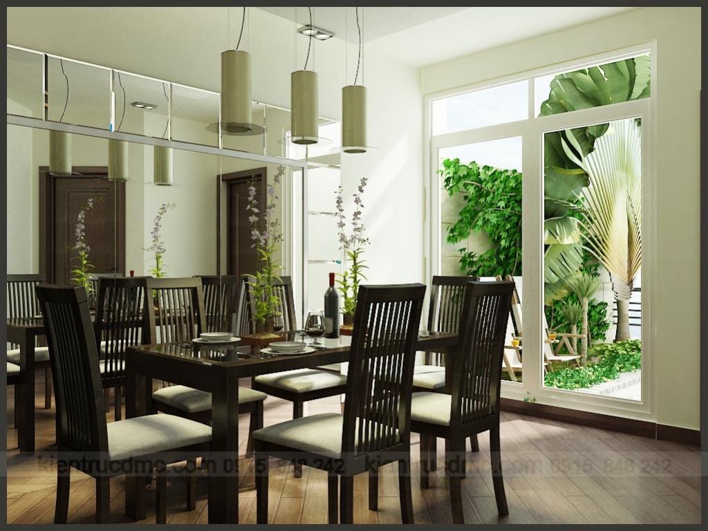 Thiết kế nội thất, Phòng ăn - Thiết kế nội thất căn hộ chung cư 110m2:
