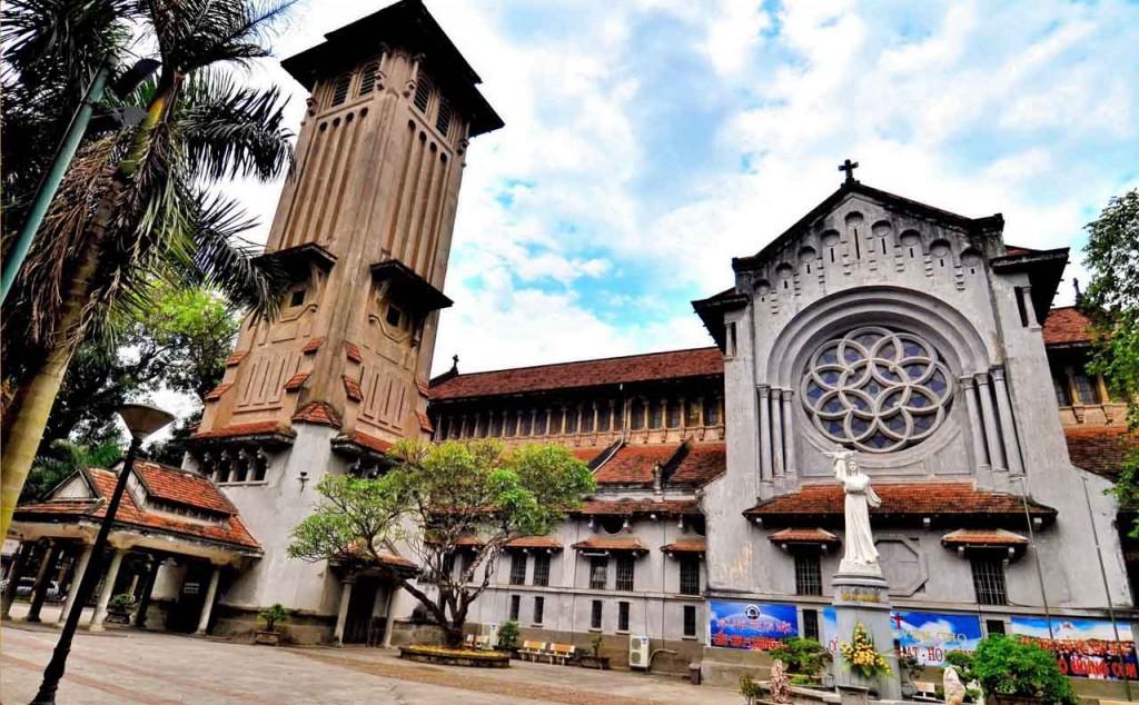 kiến trúc Nhà thờ cửa bắc
