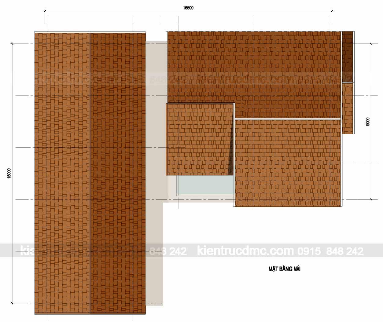 Thiết kế nhà đẹp- Thiết kế nhà vườn 658m2 Yên Bái