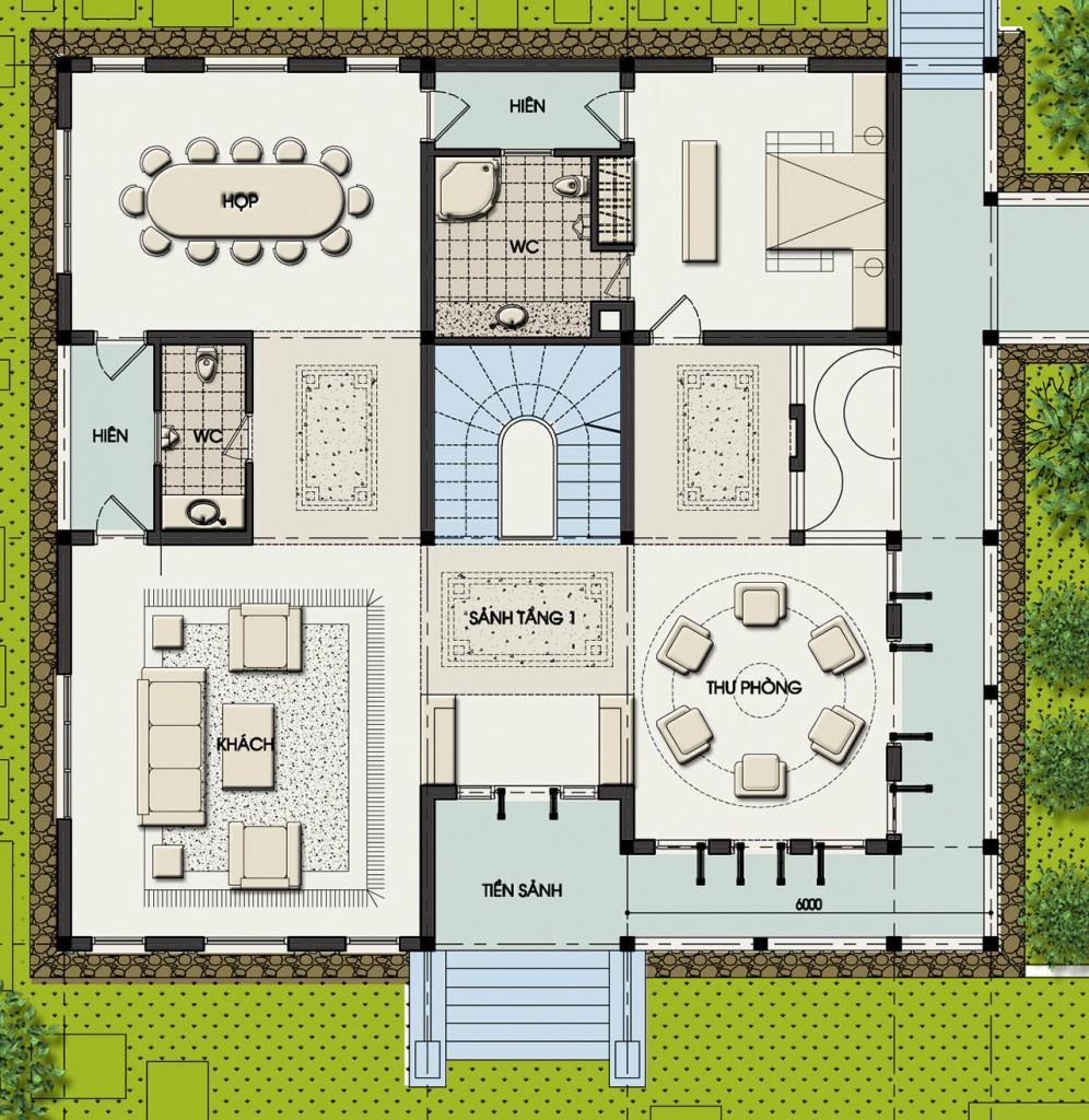 Thiết kế kiến trúc, thiết kế nhà vườn