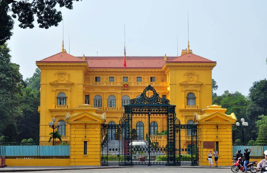 Kiến trúc phủ chủ tịch