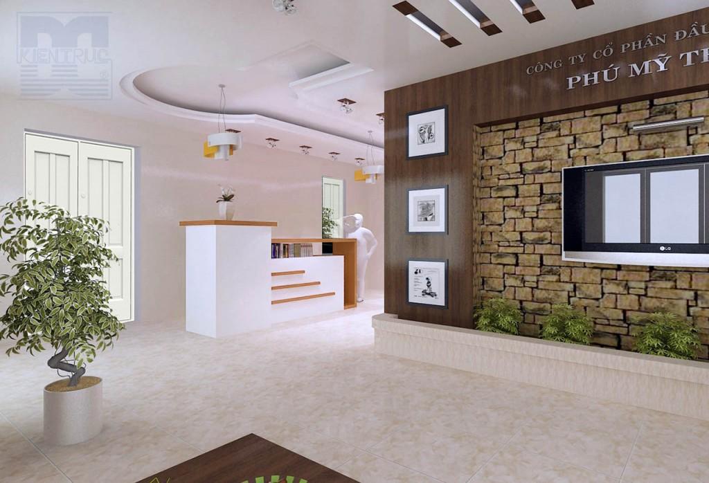 Thiết kế kiến trúc - thiết kế nội thất văn phòng