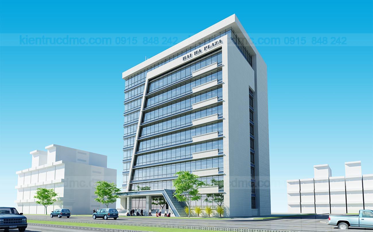 Phối cảnh - Thiết kế trung tâm thương mại Hải Hà