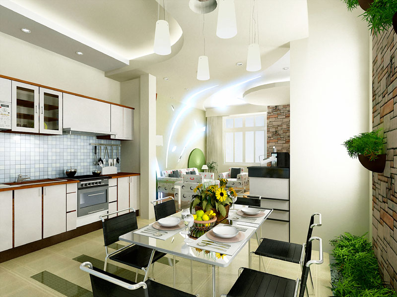 Tư vấn thiết kế phòng bếp mở cho nhà thông thoáng