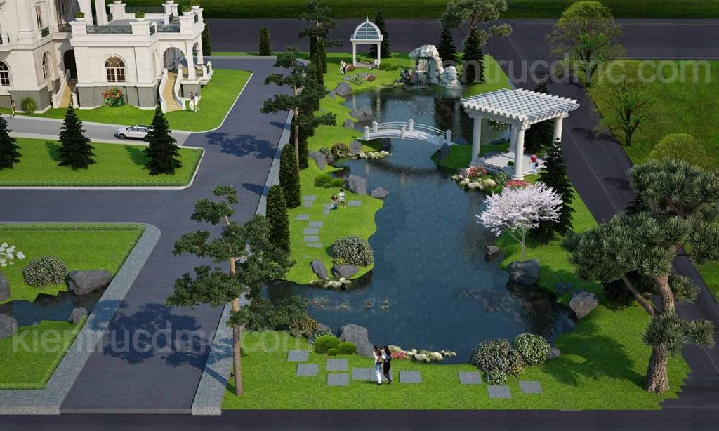 Thiết kế dinh thự, biệt thự, nhà vườn