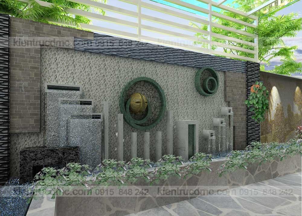 Thiết kế sân vườn biệt thự cao cấp Mỹ Đình