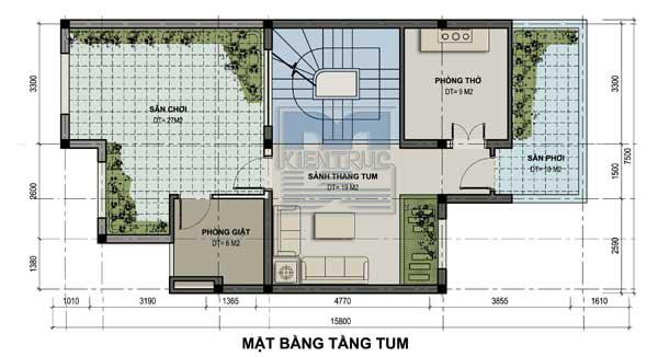 Tư vấn thiết kế biệt thự nhà vườn 150m2