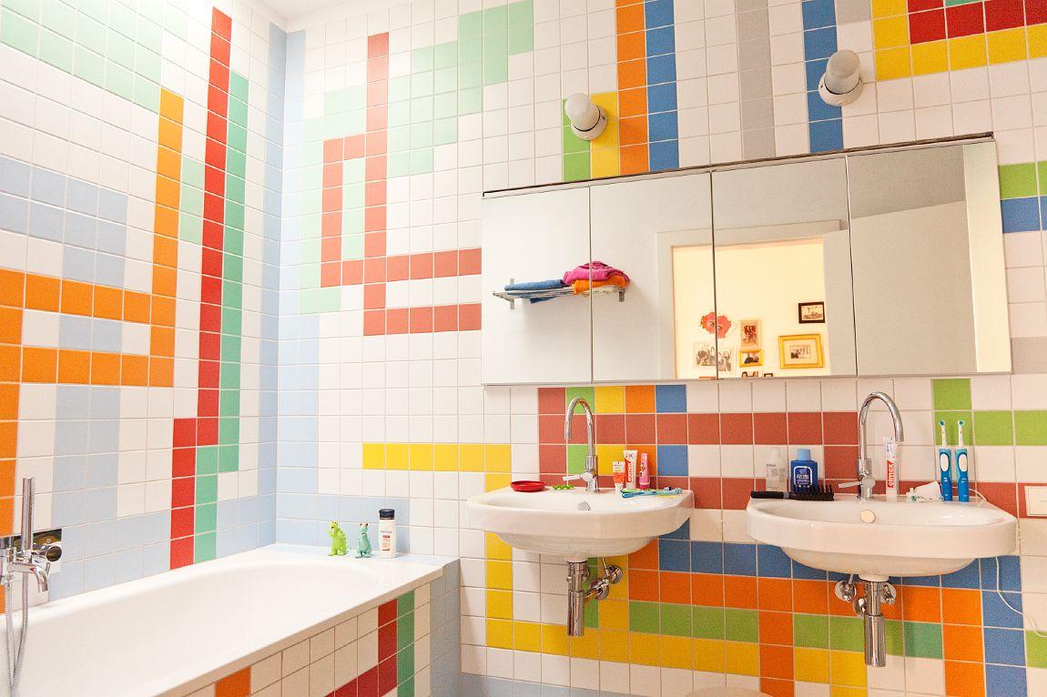 Tư vấn thiết kế nội thất phòng tắm cho bé