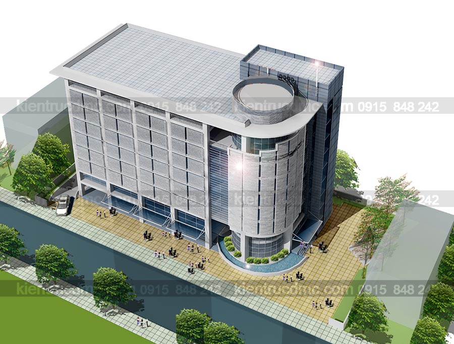 Thiết kế Trụ sở Văn phòng Công ty  Song Hà, trụ sở văn phòng làm việc