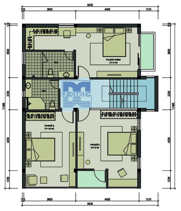 Tư vấn thiết kế biệt thự nhà vườn 285m2 miễn phí