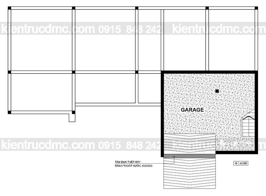 Thiết kế biệt thự hiện đại trên đất 375m2 - Thiết kế nhà vườn