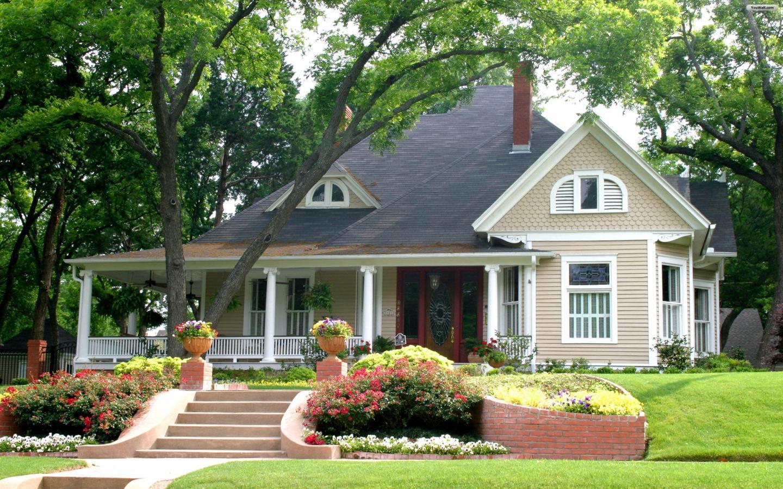 Thiết kế nhà vườn đẹp phong cách tự nhiên
