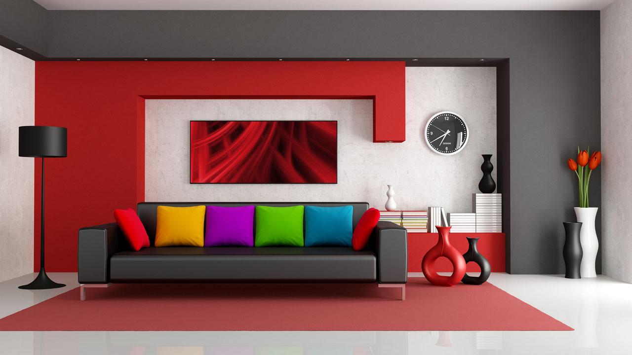 Thiết kế nhà đẹp với giấy dán tường hiện đại