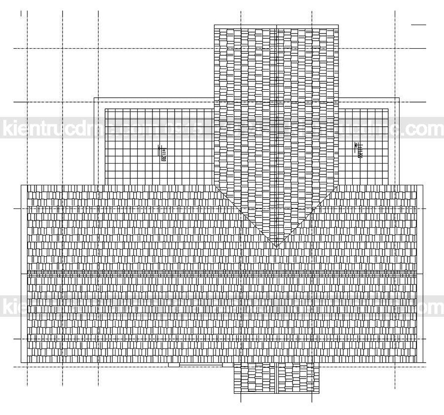 Thiết kế Biệt thự kiểu pháp trên đất 1180m2