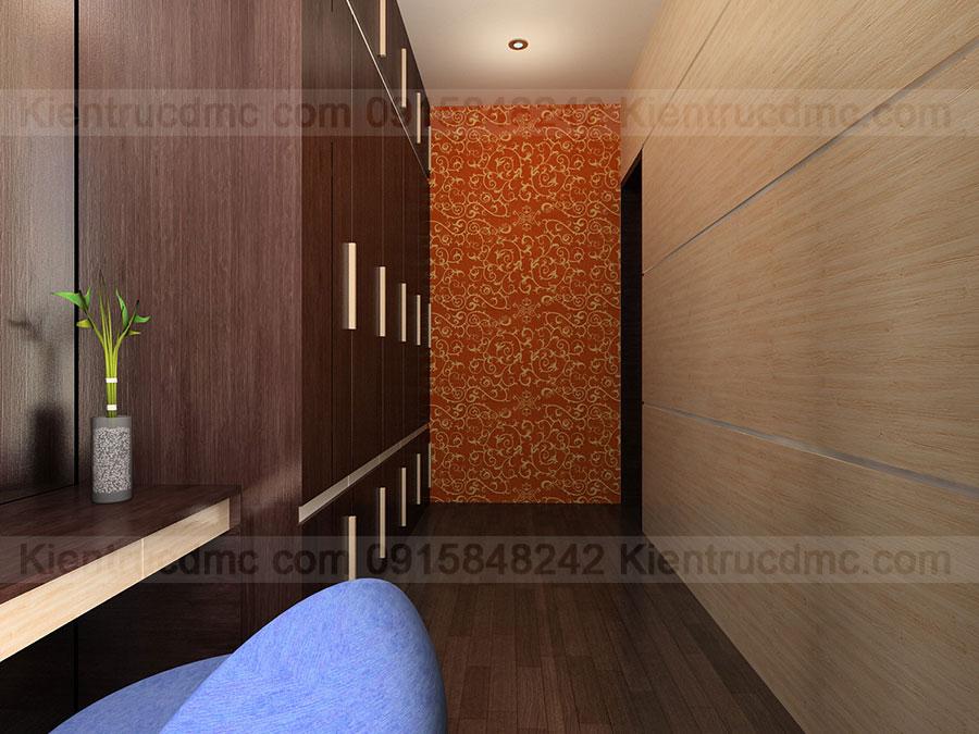Thiết kế nội thất nhà ống 4 tầng diện tích 94,5m2.