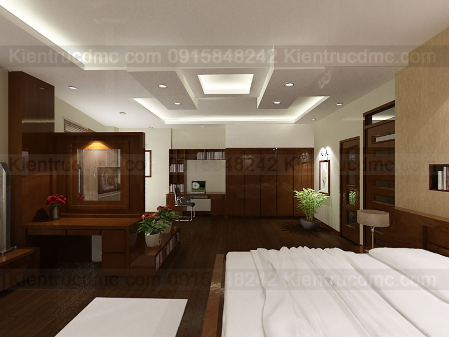 Thiết kế nội thất nhà phố 7 tầng diện tích 76m2