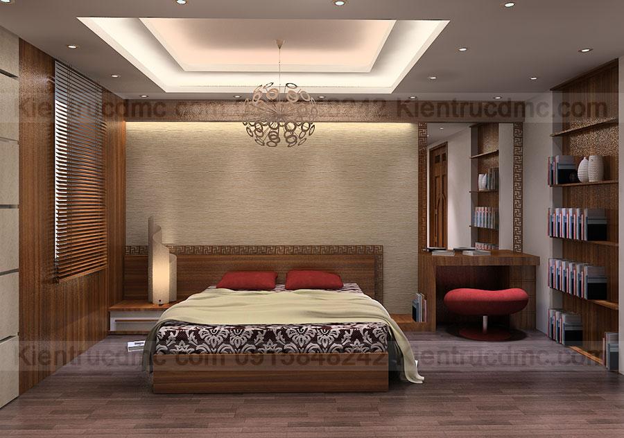 Thiết kế nội thất biệt thự phố phong cách cổ điển