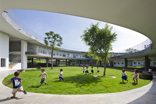 thiết kế trường mầm non - trường mẫu giáo