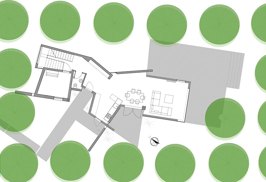 Mẫu nhà 2 tầng đẹp - Mẫu số