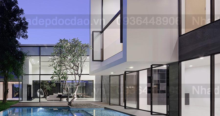 Mẫu nhà 2 tầng đẹp - Mẫu số 14