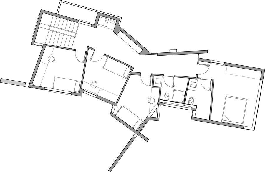 Mẫu nhà 2 tầng đẹp - Mẫu số 4