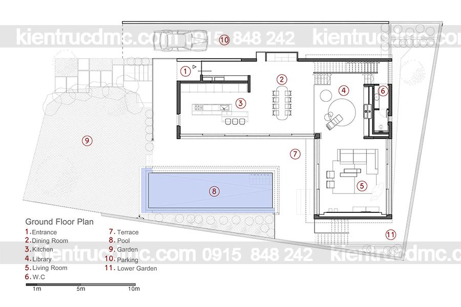 Mẫu nhà 2 tầng đẹp - Mẫu số 6