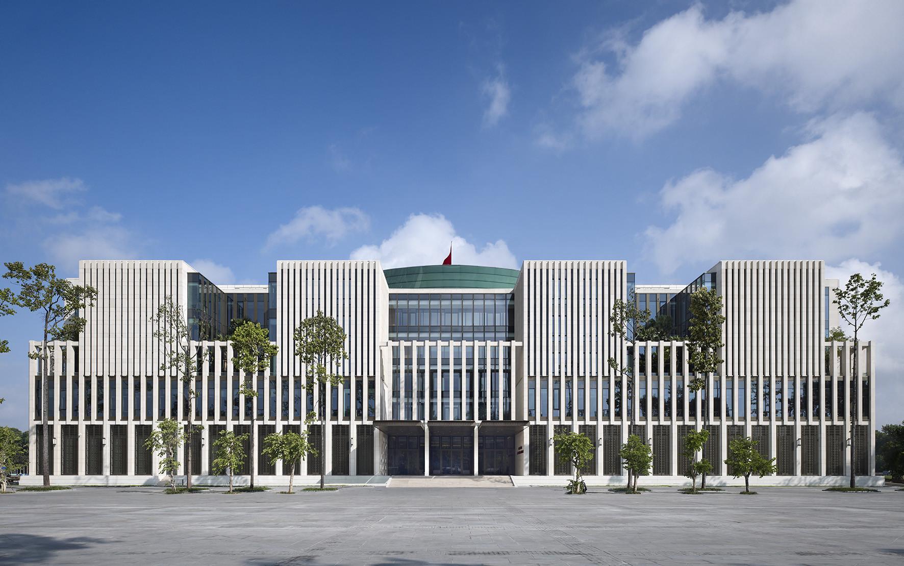 thiết kế trụ sở cơ quan, trụ sở văn phòng làm việc