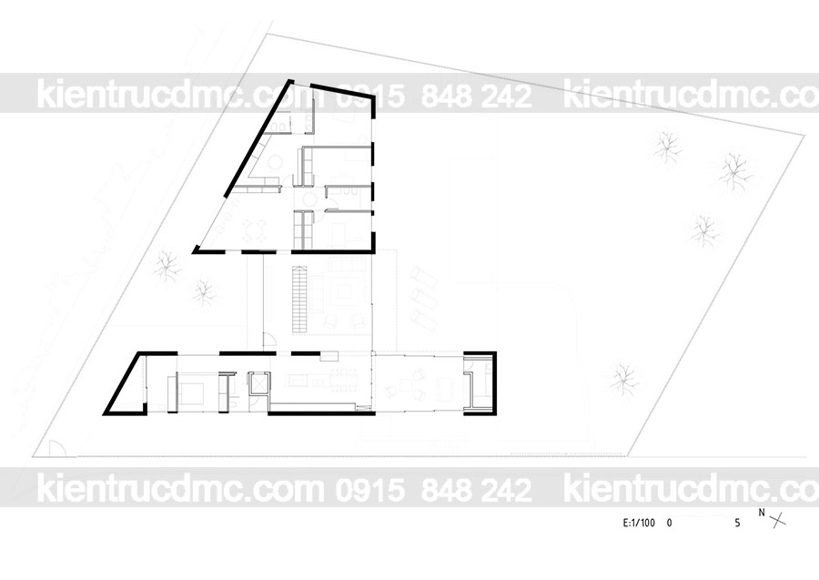 Mẫu nhà 2 tầng đep - Mẫu số 12