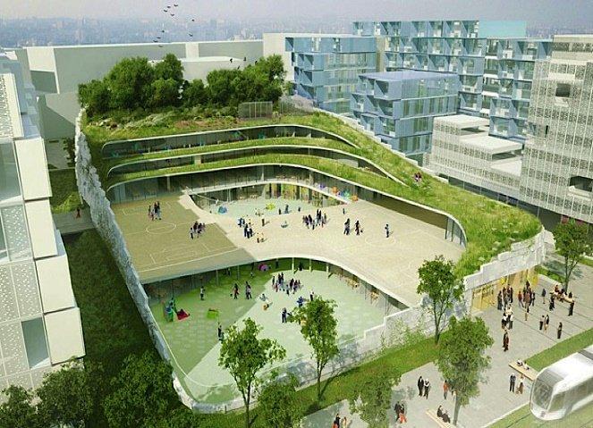 thiết kế trường học - trường phổ thông