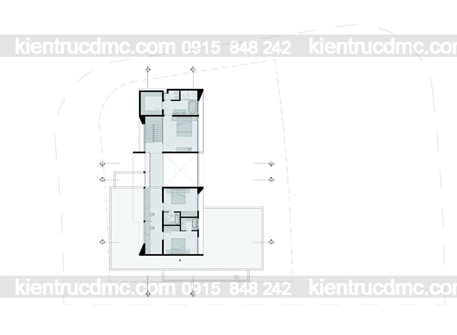 Mẫu nhà 2 tầng đẹp - Mẫu số 18