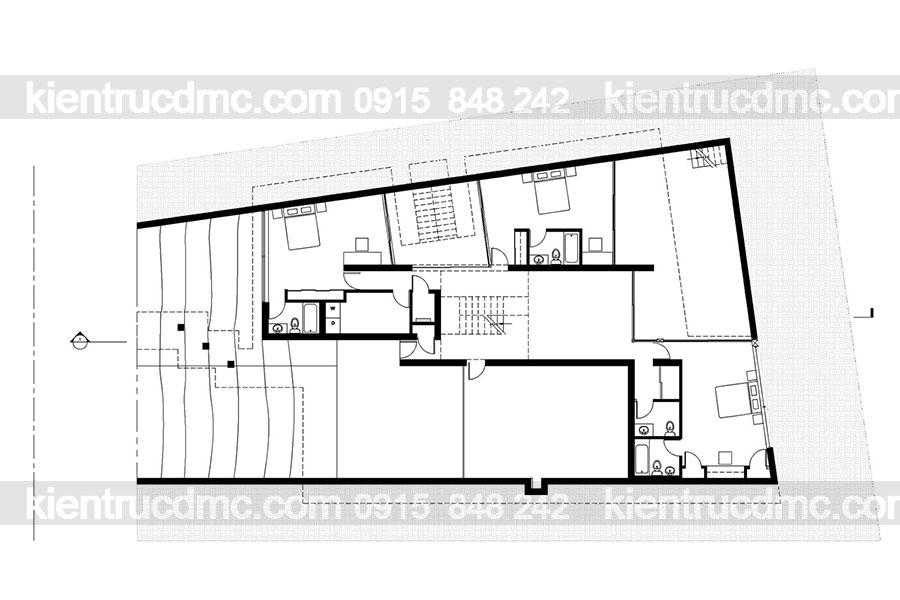 Mẫu nhà 2 tầng đẹp - Mẫu số 17