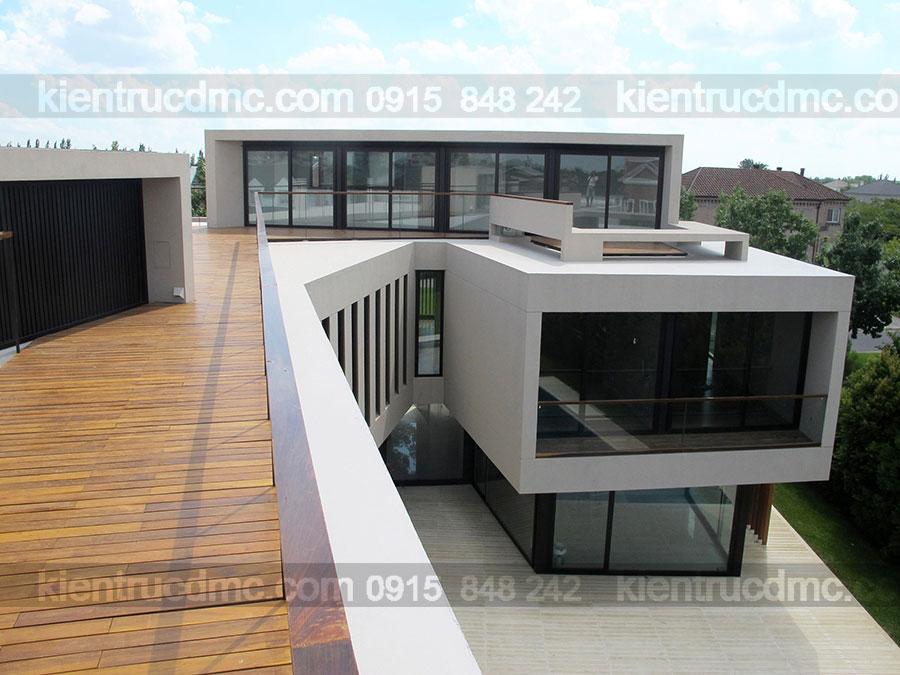 Mẫu nhà 2 tầng đẹp - Mẫu số 19
