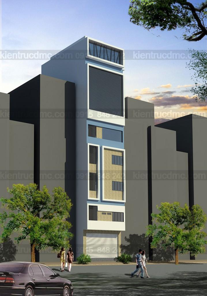 Thiết kế khách sạn, nhà nghỉ cao cấp 8 tầng