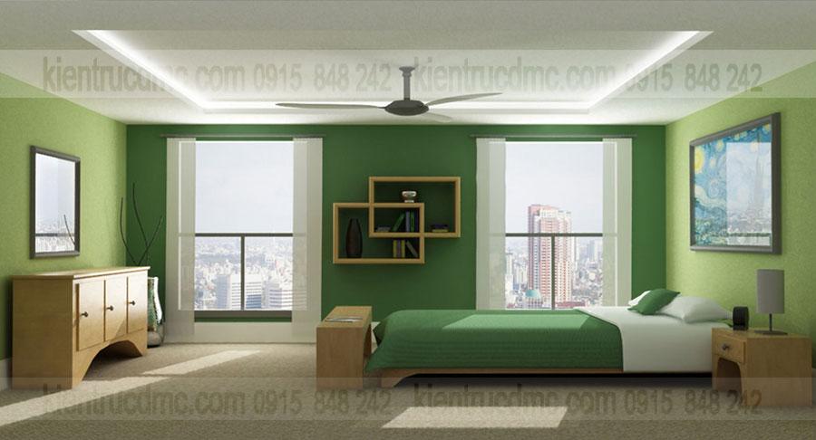 Tư vấn thiết kế nội thất phòng ngủ với 3 phong cách hiện đại